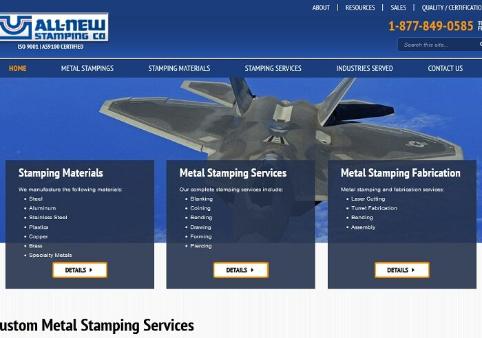 All-New Stamping Co